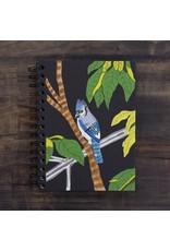 Large Notebook Blue Jay Black, Sri Lanka