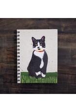 Large Notebook Tuxedo Cat Socks, Sri Lanka