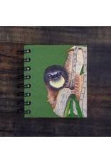 Small Notebook Three-toed Sloth Dark Green, Sri lanka