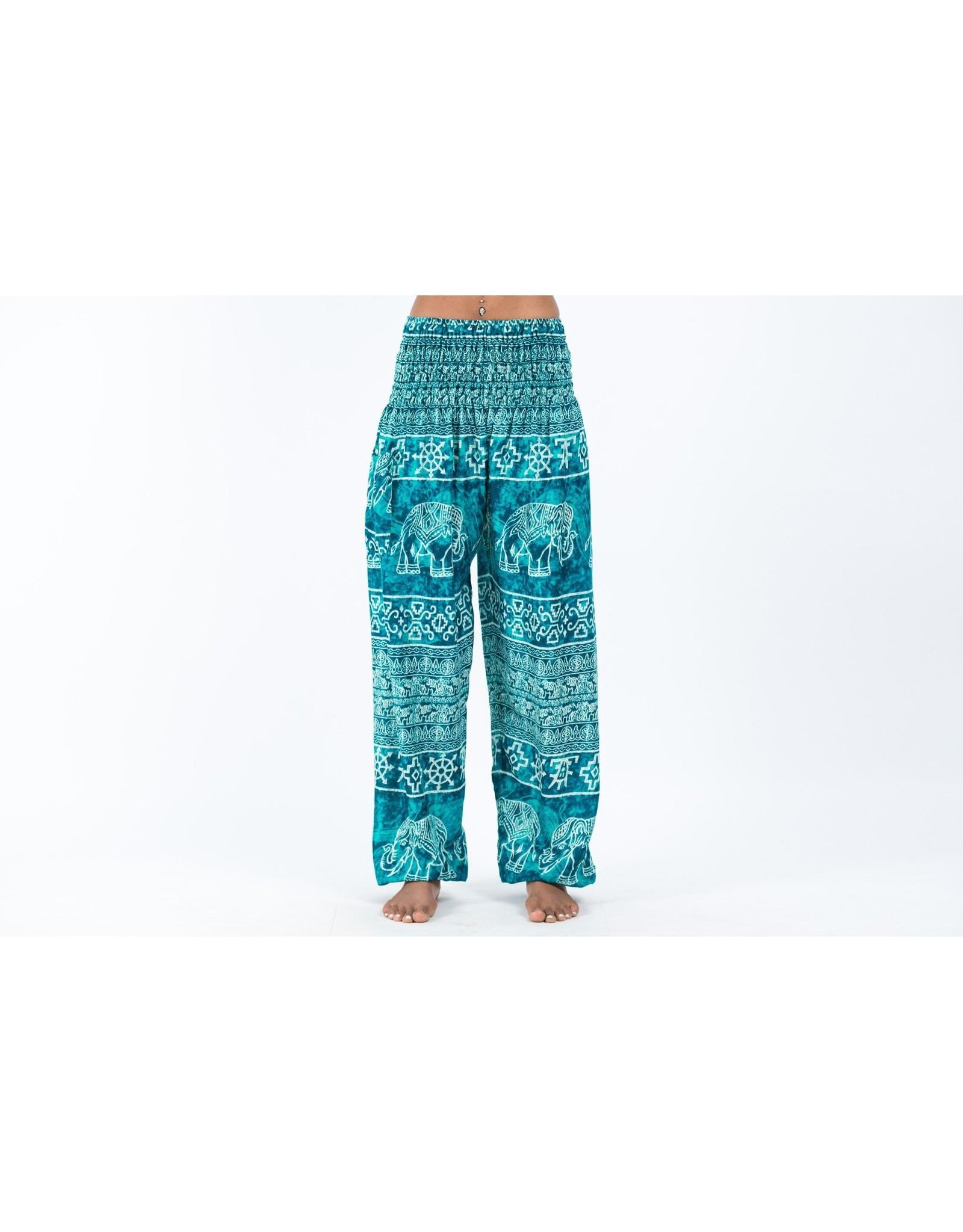 Elephant Pants, Marble Turquoise, Thailand