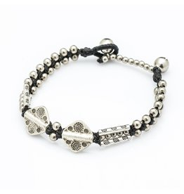 Silver Bead and Aztec Charm, Thailand