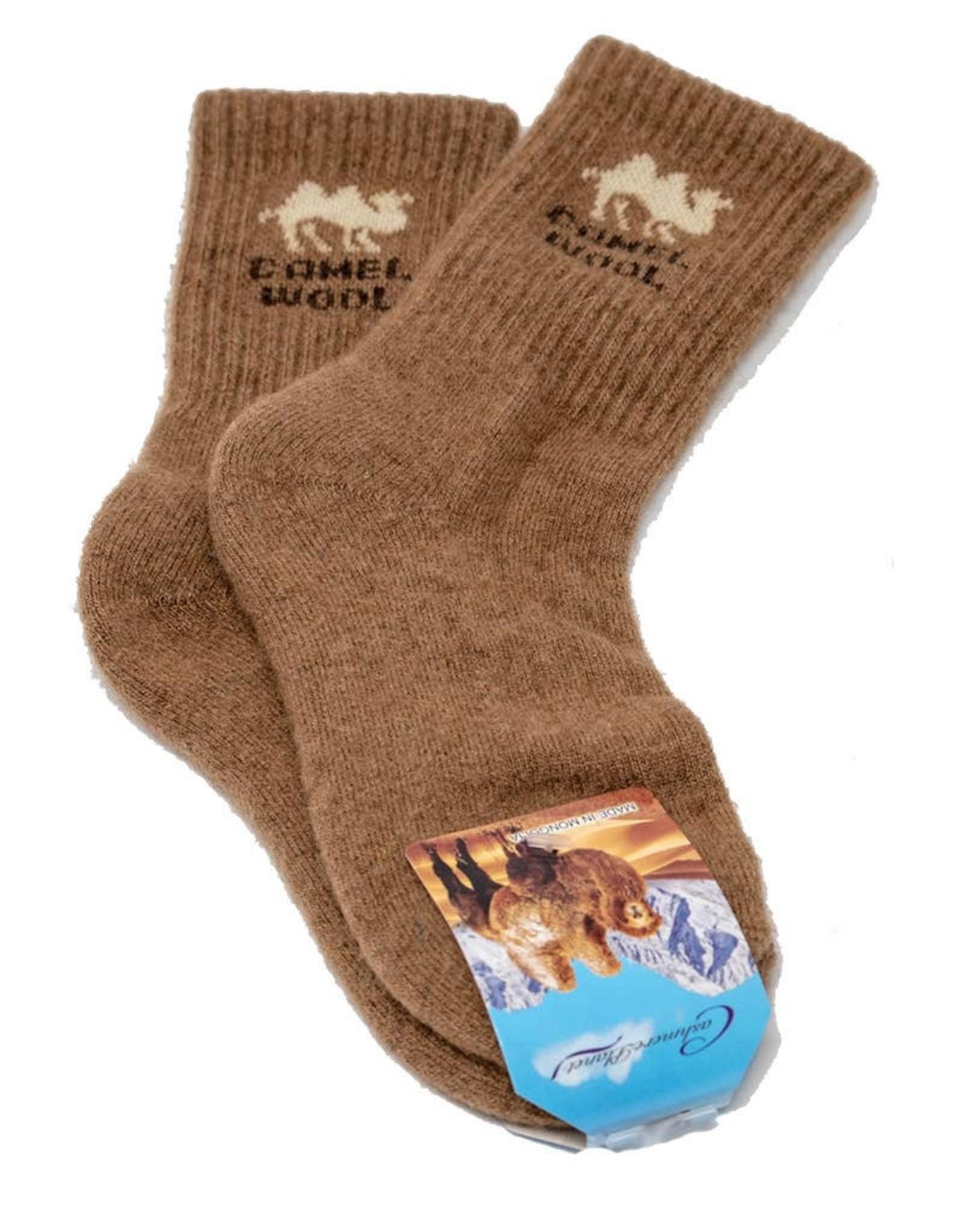 Camel Wool Sock