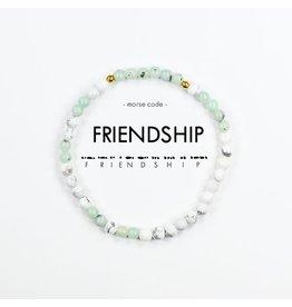 Morse Code Bracelet  Friendship