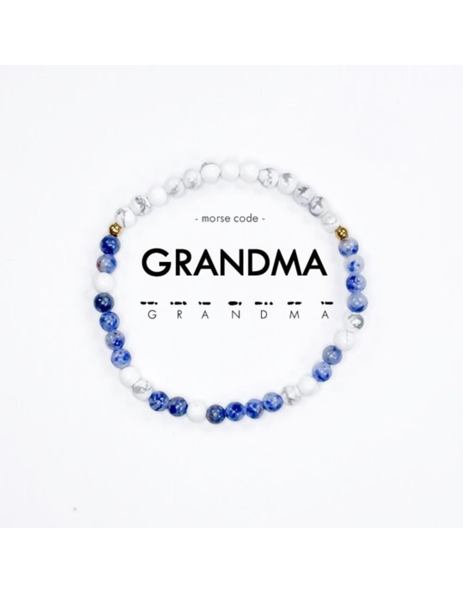 Grandma Morse Code Bracelet
