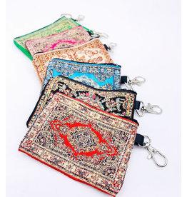 Turkish Carpet Coin Purses, Turkey