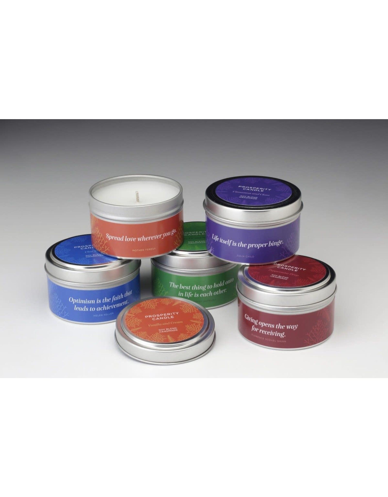 Holiday Scents, 6 oz Candles