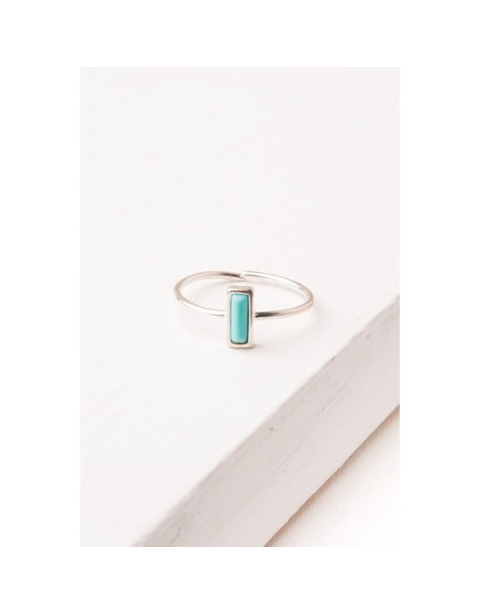 Silver and Turquoise Ring, Asia