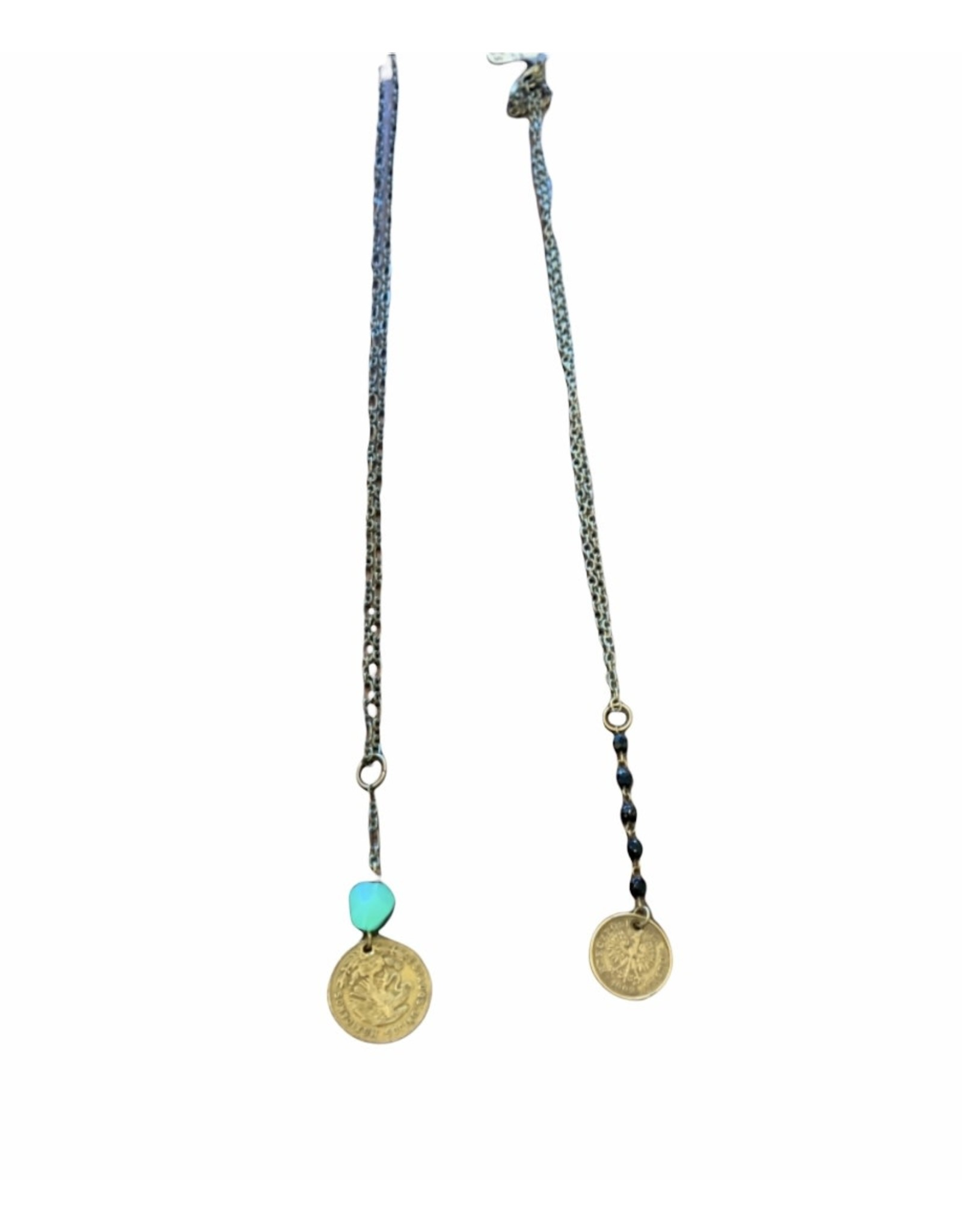 Linda Kingsley Coin Necklace, Local