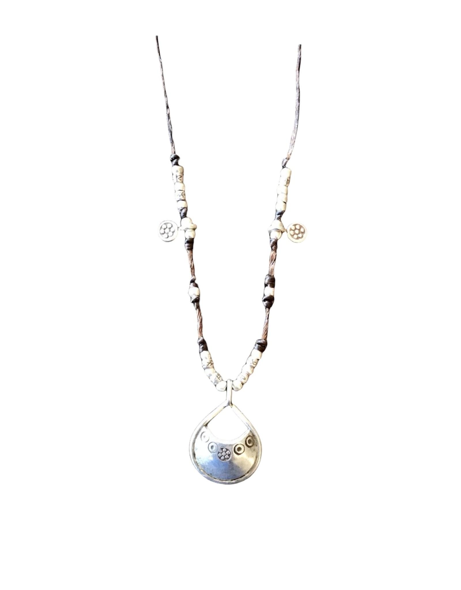Hill Tribe, Seven Shakras Short Necklace