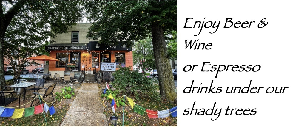 Welcome to Trade Roots Fair Trade Gift Store, Coffee, and Wine Bar!