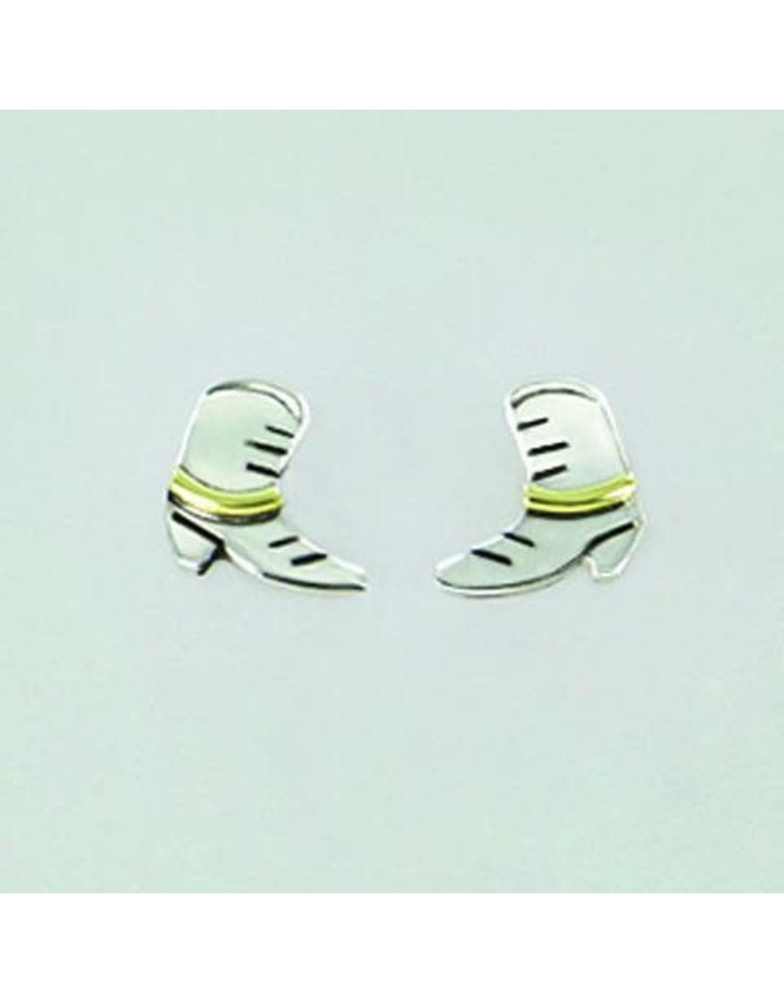 Sterling Boot Studs Earrings