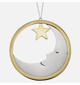 Moonlight Mixed Metal Ornament