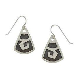 GreaterGood Fuego Sterling Silver Earrings