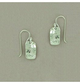 Hammered Small Rectangle Wire