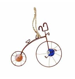 Vintage Bicycle Ornament, Kenya
