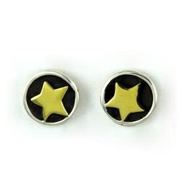 Sterling Star Post Earrings, Mexico