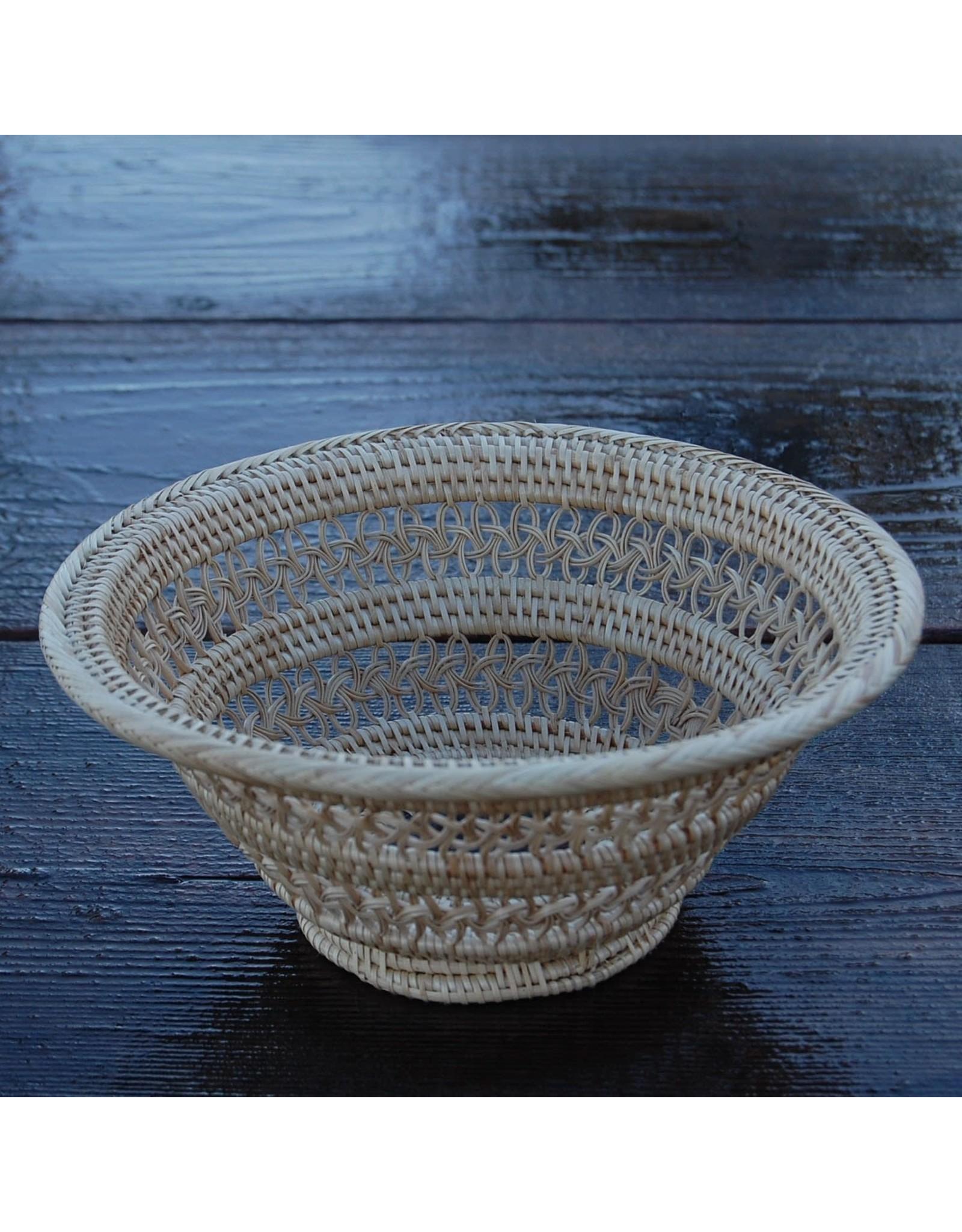 Mini Round Artisan Bowl w/ Wood Center, Cambodia