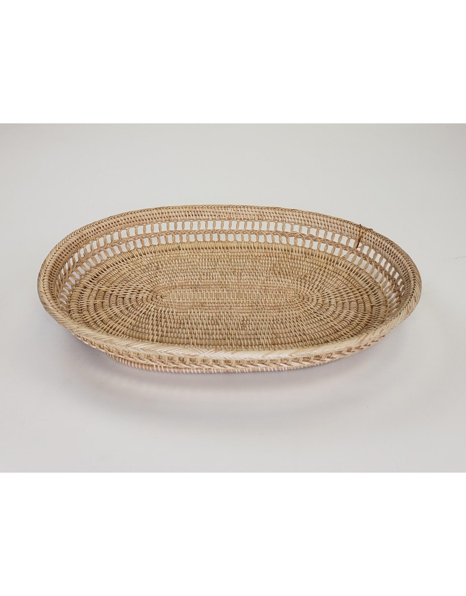 Handmade Decorative Oval Tray