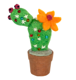 Prickly Pear Cactus Ornament, Nepal