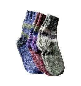 Hemp and Wool Knit Socks