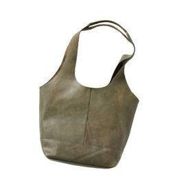 Shilani Leather Slouch Bag, India