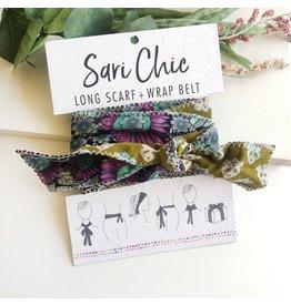 Sari Chic Long Scarf/Wrap Belt, India