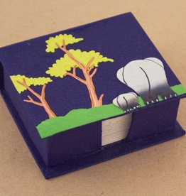 Elephant Note Box