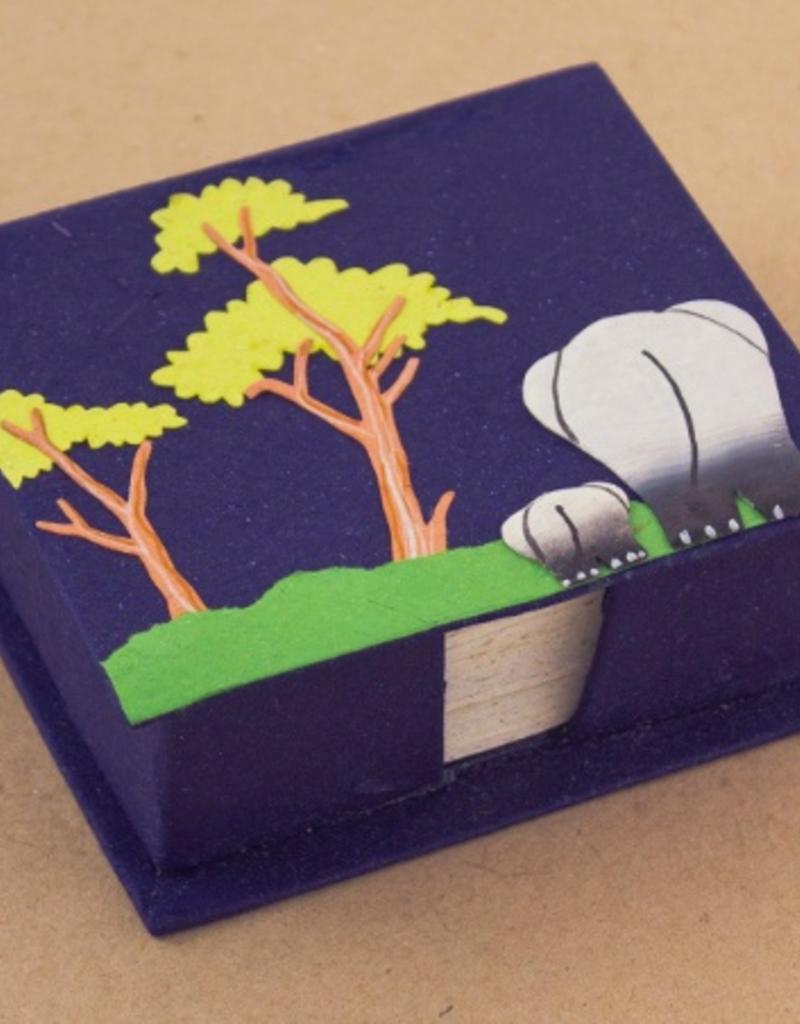Elephant Note Box