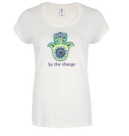 Be the Change Hamsa Tee