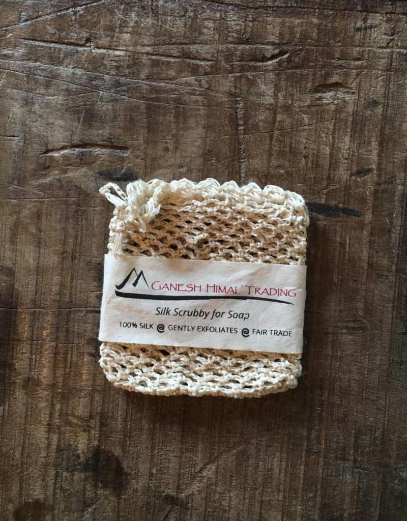 Silk Soap Scrubby