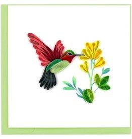 Hummingbird Quilling Card,  Vietnam