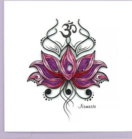Namaste Quilling Card