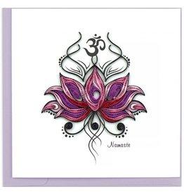 Namaste Quilling Card
