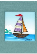 Vietnam, Quill Sticky Notes, Sailboat