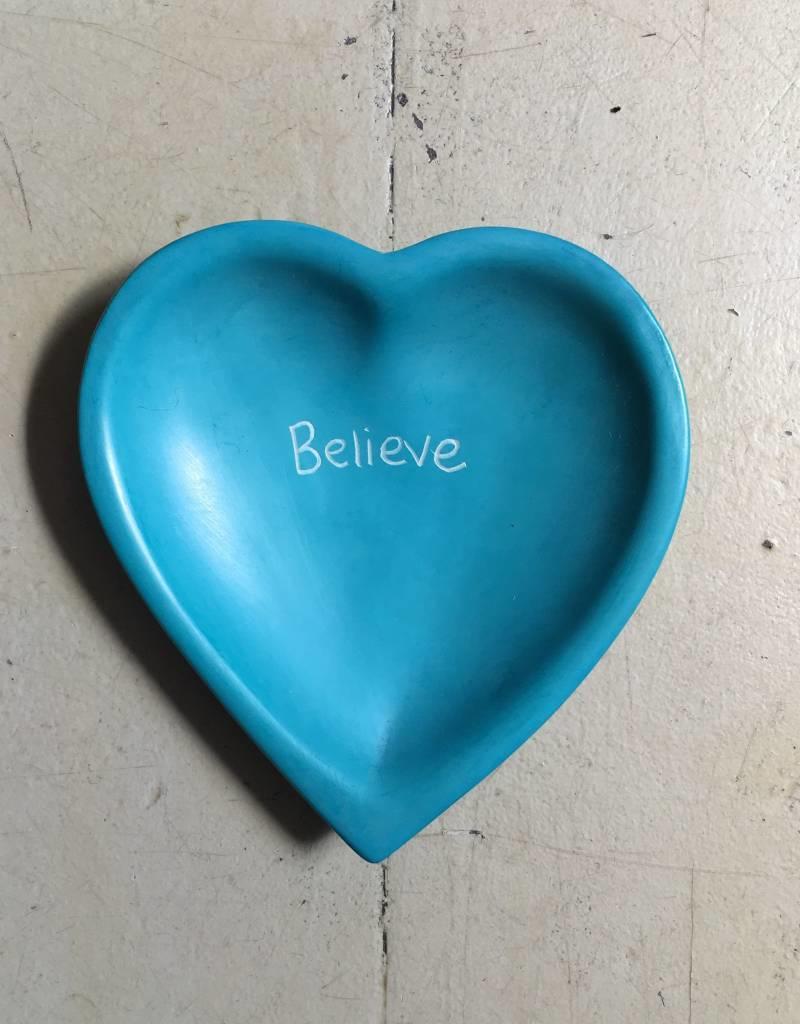 Believe Heart Dish