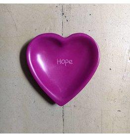 Hope Heart  Soapstone Dish, Kenya