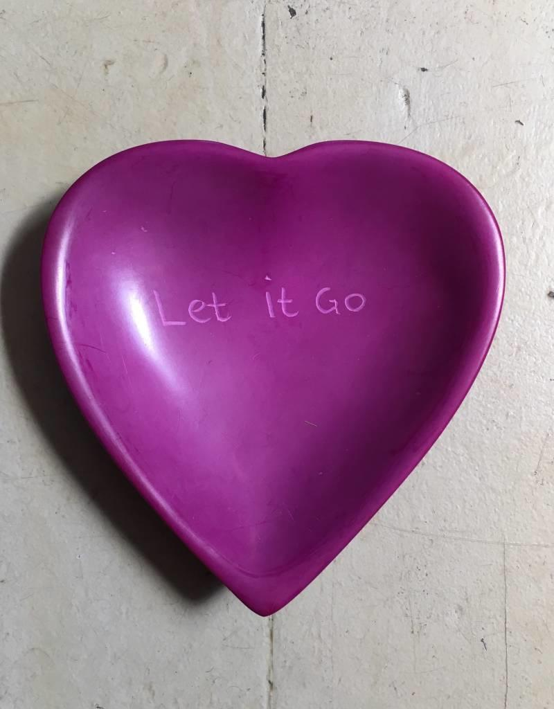 Let It Go Heart Dish