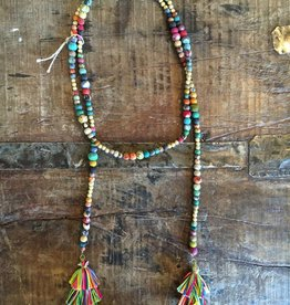 Kantha Lariat Necklace