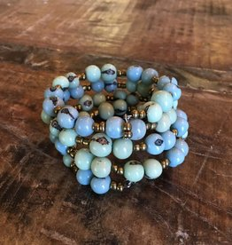 Colorblock Wrap Bracelet