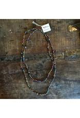 Kantha Bead Long Necklace