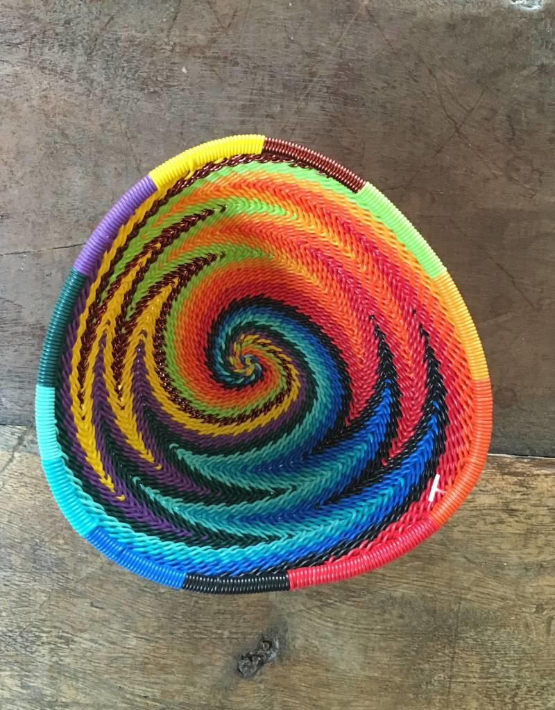 Telephone Wire Triangle Bowls