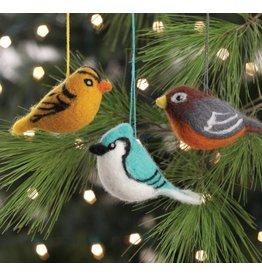 Felted Bird Ornament, Nepal