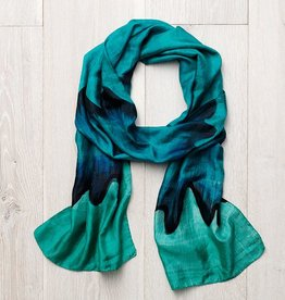 India, Ocean Wave Scarf
