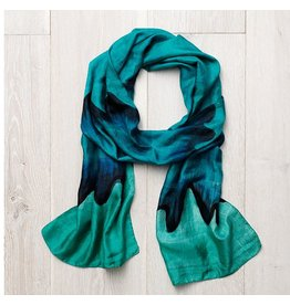 Ocean Wave Scarf, India