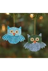 Quilled Owl Ornament, Vietnam