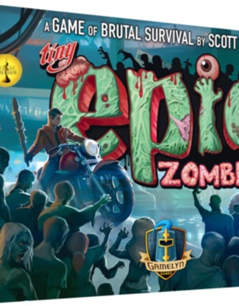 Gamelyn Games Tiny Epic Zombies Deluxe version Kickstarter (EN)