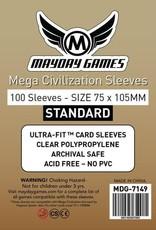 Mayday Games 7149 Sleeve«Mega Civilisation» 75mm X 105mm / 100