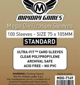 Mayday Games 7149 Sleeve«Mega Civilisation» 75mm X 105mm / 100