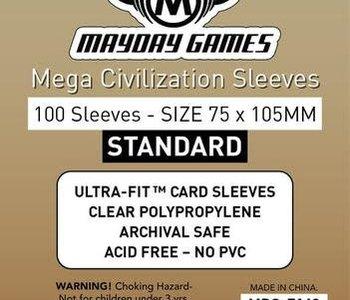 7149 Sleeve«Mega Civilisation» 75mm X 105mm / 100