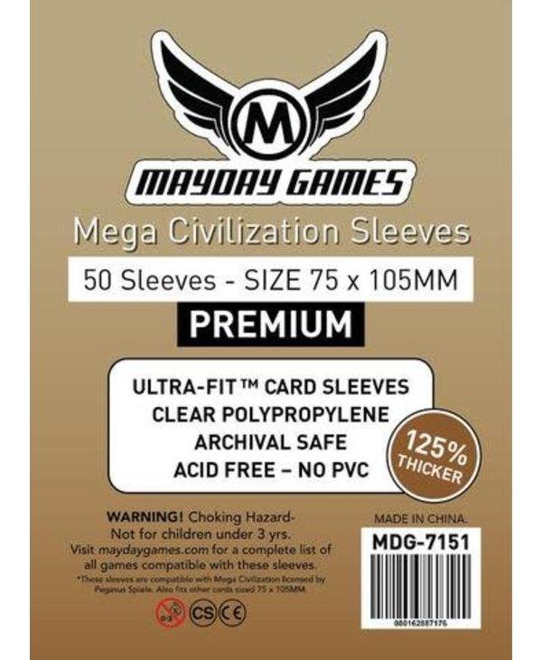 7151 Sleeve«Mega Civilisation» 75mm X 105mm / 50